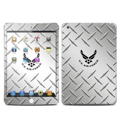 Apple iPad Mini Skin - USAF Diamond Plate