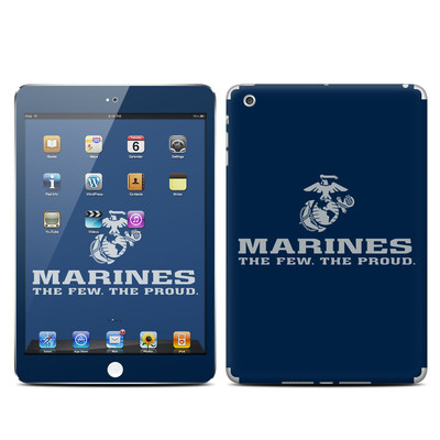 Apple iPad Mini Skin - USMC Blue