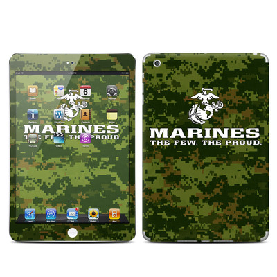 Apple iPad Mini Skin - USMC Camo