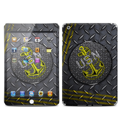 Apple iPad Mini Skin - USN Diamond Plate