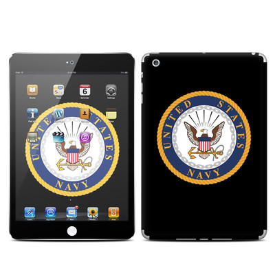 Apple iPad Mini Skin - USN Emblem