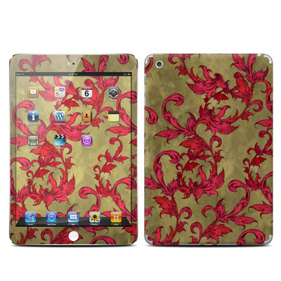 Apple iPad Mini Skin - Vintage Scarlet