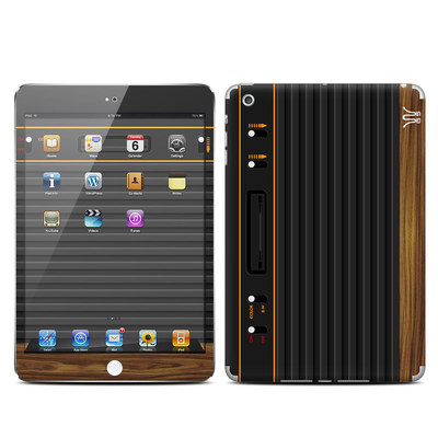Apple iPad Mini Skin - Wooden Gaming System