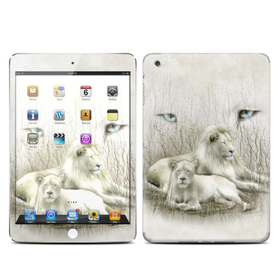 Apple iPad Mini Skin - White Lion