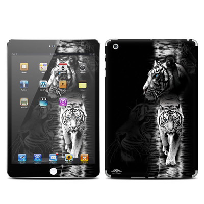 Apple iPad Mini Skin - White Tiger