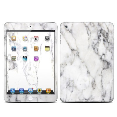 Apple iPad Mini Skin - White Marble