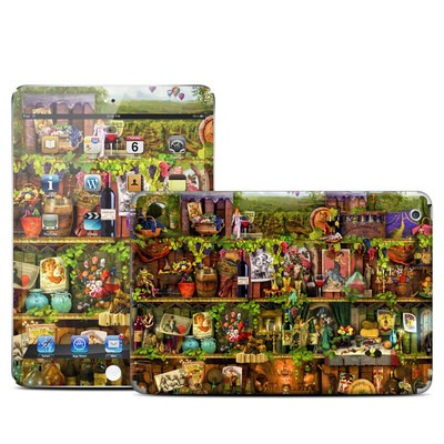 Apple iPad Mini Skin - Wine Shelf