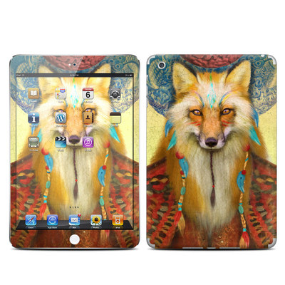 Apple iPad Mini Skin - Wise Fox