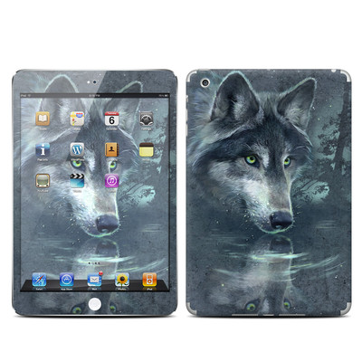Apple iPad Mini Skin - Wolf Reflection