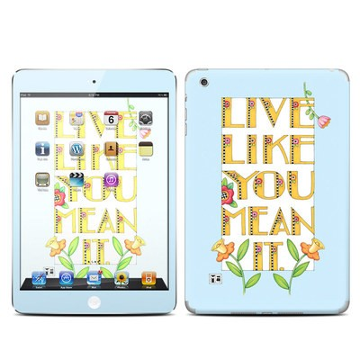 Apple iPad Mini Skin - Mean It