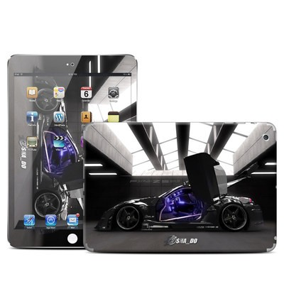 Apple iPad Mini Skin - Z33 Dark