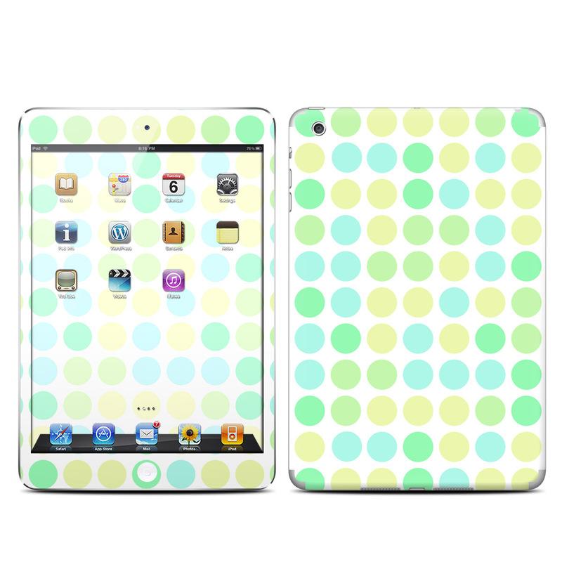 Apple Ipad Mini Skin Big Dots Mint By Pixel Decor