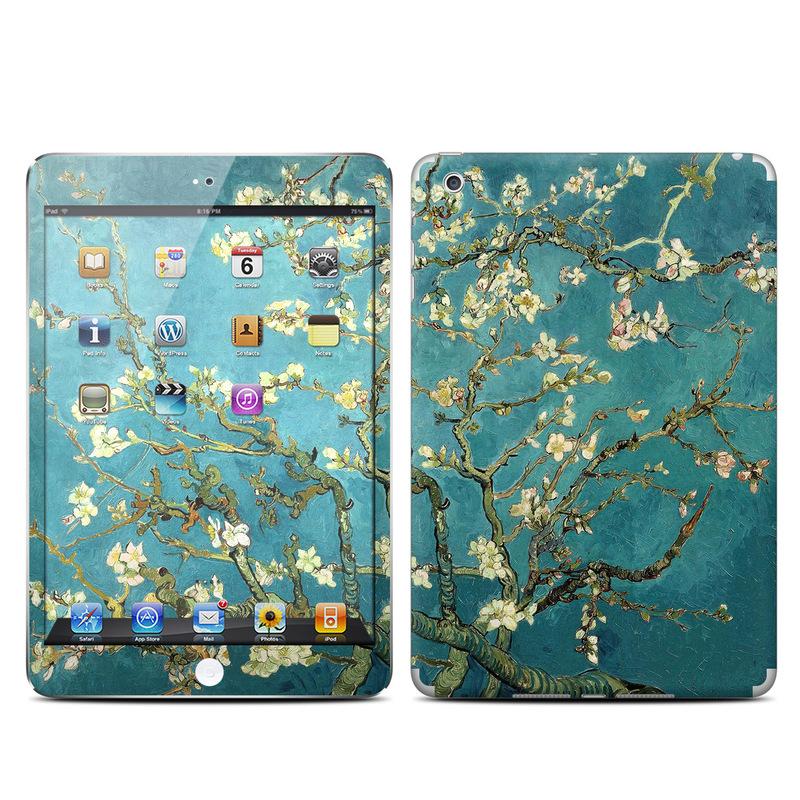 Apple ipad mini skin blossoming almond tree by vincent van gogh decalgirl