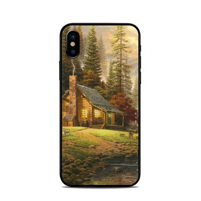 Apple iPhone X Skin - A Peaceful Retreat