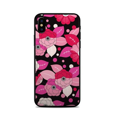 Apple iPhone X Skin - Asiana Blossoms