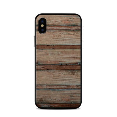 Apple iPhone X Skin - Boardwalk Wood