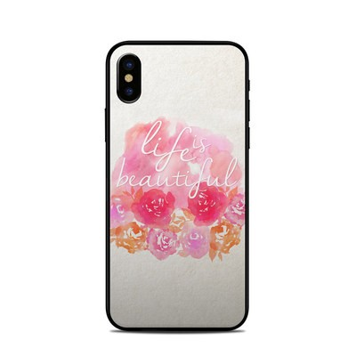 Apple iPhone X Skin - Beautiful