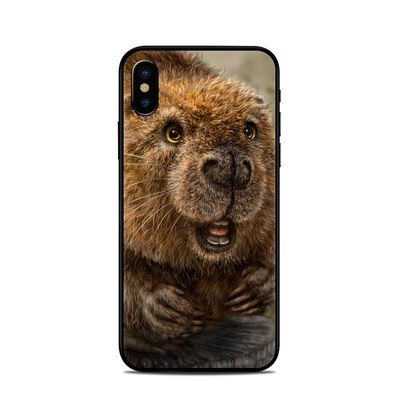 Apple iPhone X Skin - Beaver Totem