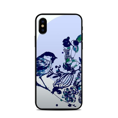 Apple iPhone X Skin - Bluebird