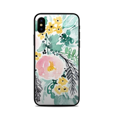 Apple iPhone X Skin - Blushed Flowers