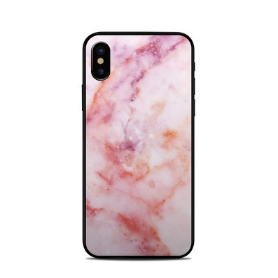 Apple iPhone X Skin - Blush Marble