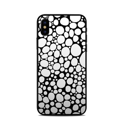 Apple iPhone X Skin - BW Bubbles