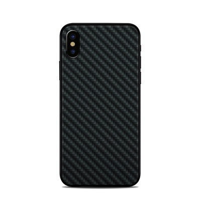 Apple iPhone X Skin - Carbon