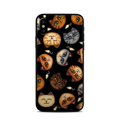 Apple iPhone X Skin - Cat Faces