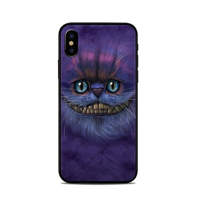 Apple iPhone X Skin - Cheshire Grin
