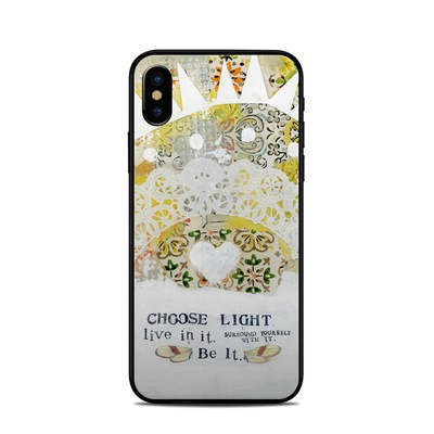 Apple iPhone X Skin - Choose Light