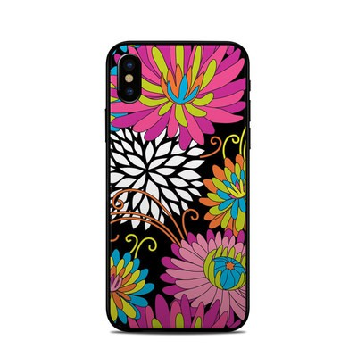 Apple iPhone X Skin - Chrysanthemum