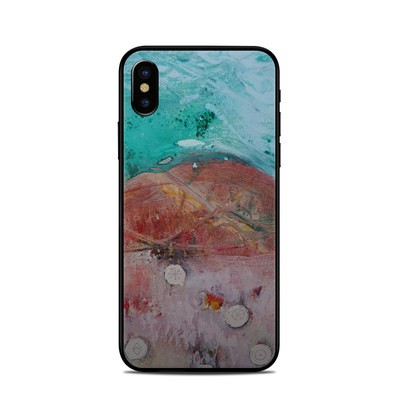 Apple iPhone X Skin - Clay Mountains