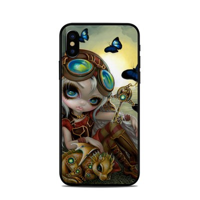 Apple iPhone X Skin - Clockwork Dragonling