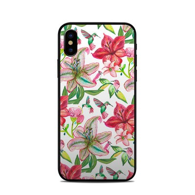 Apple iPhone X Skin - Colibri