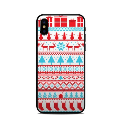 Apple iPhone X Skin - Comfy Christmas