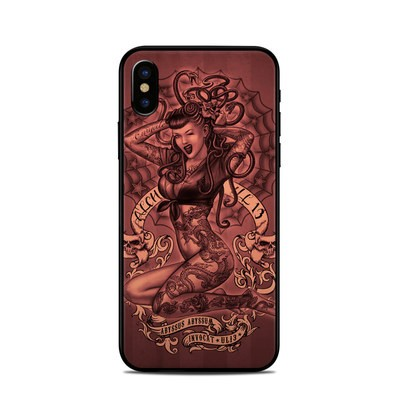 Apple iPhone X Skin - If Looks Could Kill