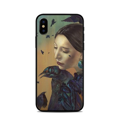 Apple iPhone X Skin - Crow Maiden