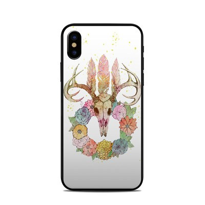 Apple iPhone X Skin - Deer Skull