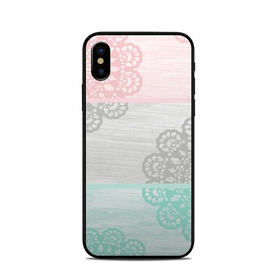 Apple iPhone X Skin - Doily