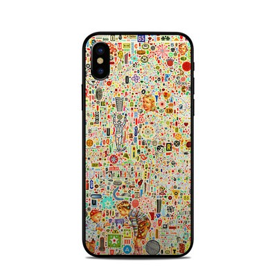 Apple iPhone X Skin - Effloresce