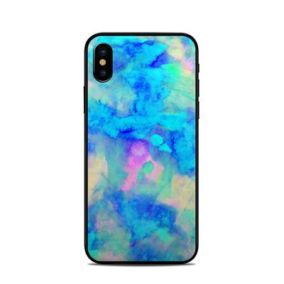 Apple iPhone X Skin - Electrify Ice Blue