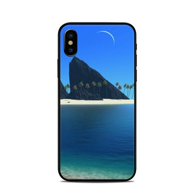 Apple iPhone X Skin - Endless Blue