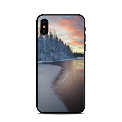 Apple iPhone X Skin - Evening Snow