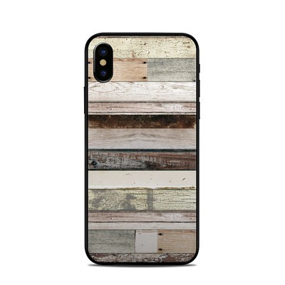 Apple iPhone X Skin - Eclectic Wood