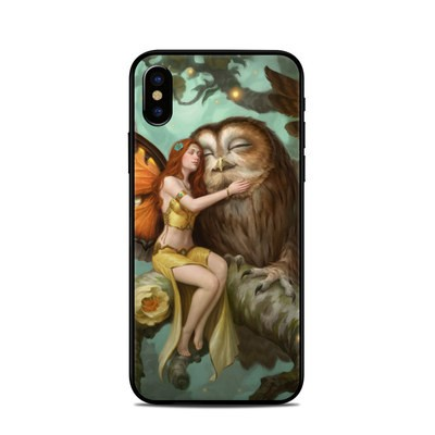 Apple iPhone X Skin - Fairy and Owl