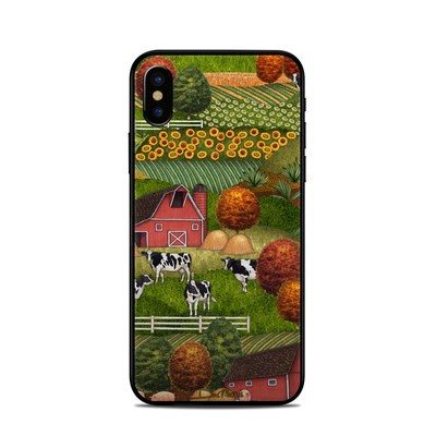 Apple iPhone X Skin - Farm Scenic