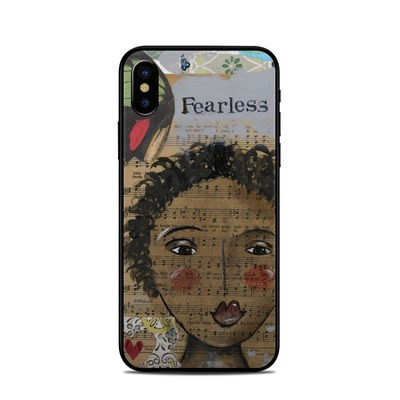Apple iPhone X Skin - Fearless Heart