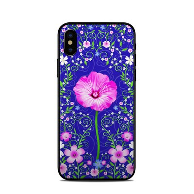 Apple iPhone X Skin - Floral Harmony