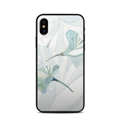 Apple iPhone X Skin - Floating Gingko