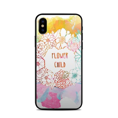 Apple iPhone X Skin - Flower Child